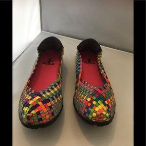 Corey's sidewalk shoes size 7